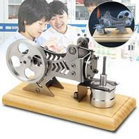 New Stirling Engine Model Toy Vacuum Motor Model Kit Engine Motor Model Children Kids Educational Physical Science Toy Gift