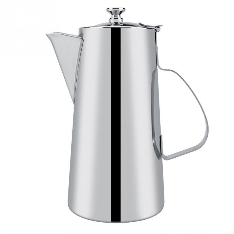 2l Kaffee Töpfe Espresso Kaffee Milch Krüge Tassen Aufschäumen Tasse Griff Handwerk Kaffee Girlande Tasse Edelstahl