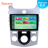 Seicane Android 8.0/8.1 9 1Din Touchscreen HD Navi Car Radio GPS Stereo Player 4+32GB For 2008 2012 KIA FORTE(MT) Car Head Unit