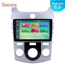 Seicane Android 8,0/8,1 9 pulgadas 1Din Radio GPS de coche unidad para 2008-2012 KIA FORTE (MT) pantalla táctil HD 1080 p reproductor Multimedia