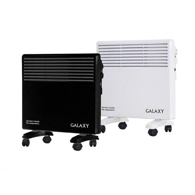 Обогреватель конвекционный Galaxy GL 8226 черный (Мощность 1200 Вт, 2 режима, регулировка температуры, 3 секции, защита от перегрева, класс защиты IPx4, компактный размер, бесшумная работа, настенное крепление в компл