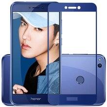 Szkło hartowane dla Huawei Honor 8 Lite szklany ochraniacz ekranu folia ochronna dla honora 8 Lite honer 8 światło 8lite przezroczysta folia 9H
