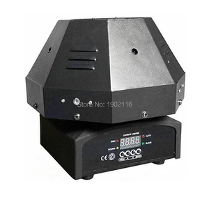 Image 5 - RGB Color 9 Lens Moving Head Laser Light DMX512/Auto/Sound Beam Effect Stage Lights Good For DJ Party Disco Home Club Show Laser