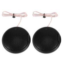 1 Pair Tweeter Car Speakers 105dB 20W Auto Audio Loudspeakers Treble Speakers Som Automotivo Parlantes Para Auto black
