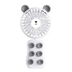 Ręczny mini wentylator  osobiste przenośne biurko wózek wentylator stołowy śliczne małe chłodzenie składany wentylator elektryczny na pomieszczenie biurowe Outdoor H w Wentylatory od AGD na