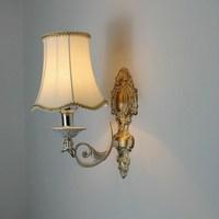 European vintage bronze iron E14 LED bulb wall sconce lamp American retro home deco bedroom bedside wall light fixture
