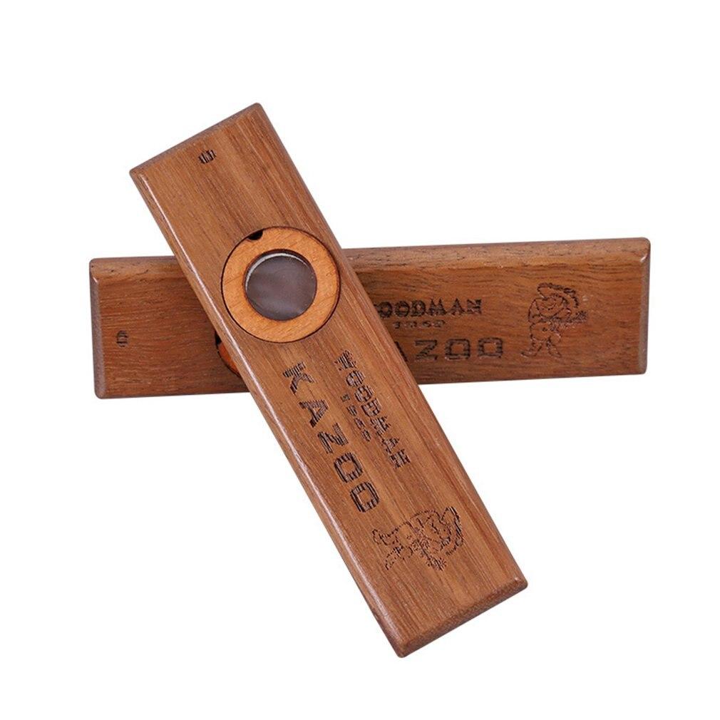 Деревянная флейта коричневый аккомпанемент флейта Инструменты деревянные паллеты Kazoo музыка крепкая