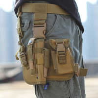 2019 Airsoft Tactical Magazine Leg Holster Thigh Holster Pouch Bag for Outdoor Military Hunting Pouch with Adjustable Strap