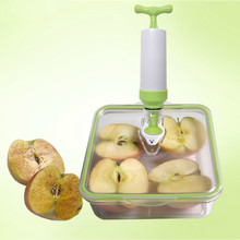 Vacuum Fresh Box kitchen Storage Containers Microwave Oven Lunch Refrigerator Accept Fruits Seal Up Food Level