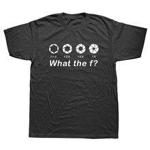Impreso personalizado fotógrafo Cámara divertido camisetas de los hombres de  manga corta cuello T camisa cb97195541569