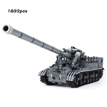 Military Tank Series T92 Track compatible legoinglys Army Minifigs Soldier Figures Weapon Guns Building Blocks Toys