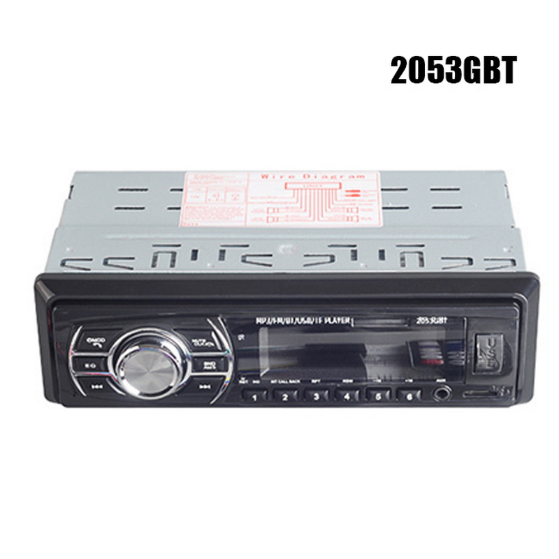 1 Din Bluetooth aux в автомобиль радио Поддержка USB/SD/MMC кардридер 24 в FM Turner OLED цветной экран автомобиля стерео автомобиля mp3 плеер