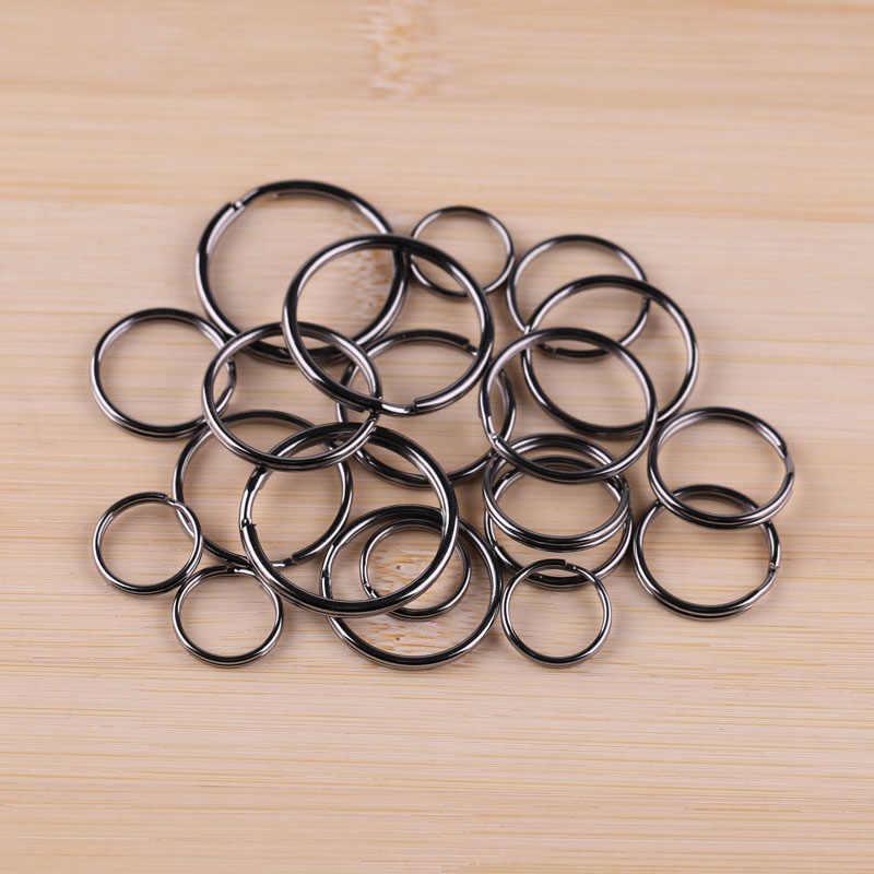 Rose Gold สี key แหวนวัสดุแพคเกจสีดำ Gun Plated แหวนคู่
