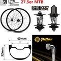 27 5 er MTB углеродное колесо Koozer XM 490 ступица 40mm32mm 650B Hookless обод столб спицы для пересеченной страны/все горный велосипед колесная установка