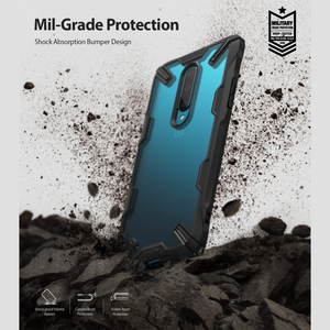 Image 2 - Ringke Fusion X for Oneplus 7 Pro Case Dual Layer  PC Clear Back Cover and Soft TPU Frame Hybrid Heavy Duty Drop Protection