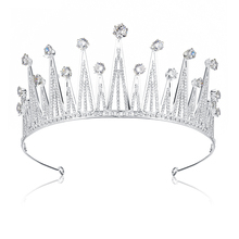 цены Wedding Pageant Bridal Rhinestones Crystal Tiara Crown Headband Princess Queen Prom Wedding Party Accessiories Hair Jewelry