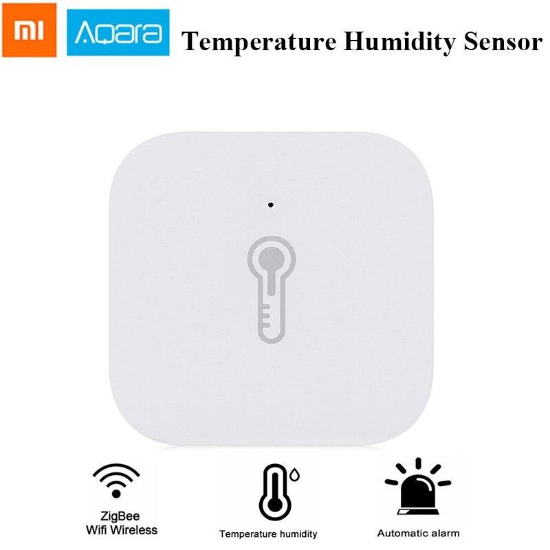 AQara Smart Temperature Humidity Sensor ZigBee Version Wifi Wireless Smart Sensor Work With Xiaomi Home Mijia Mi Home APP