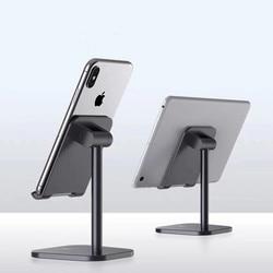 Uchwyt na telefon komórkowy stop Aluminium metalowy uchwyt na Tablet na Tablet uniwersalny i telefon regulowany stojak z uchwytem na telefon