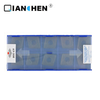 Original ZCCCT 10pcs alto desempenho de alta qualidade alta resistência CNC indústria CNMM190616-HDR YBC252 pastilhas de metal duro