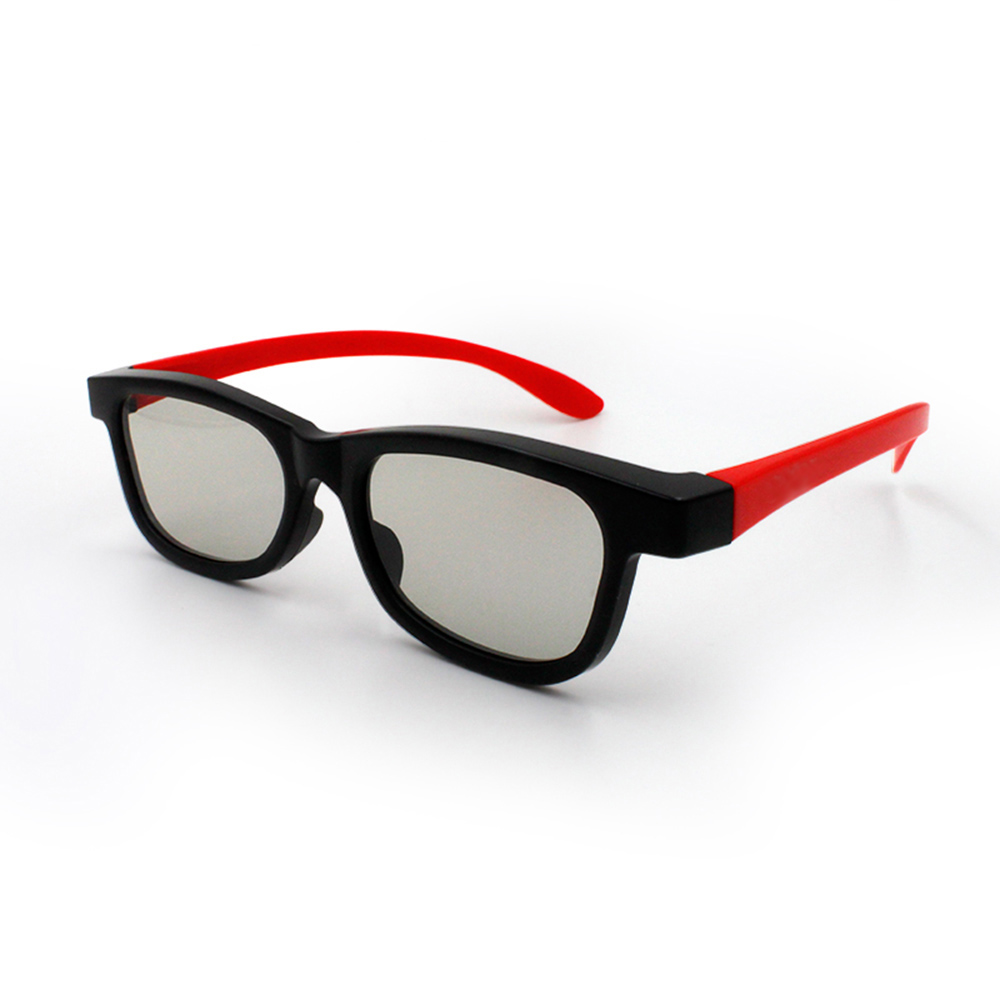 3D Glasses Watching Cinema Movies Passive Lenses Polarized Portable for Lightweight G66