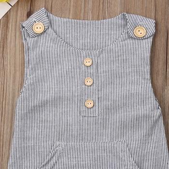 Pakaian Stripes Tanpa Lengan Baby Boy  3