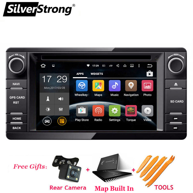 SilverStrong Android9 0 2din Car DVD GPS For MITSUBISHI OUTLANDER 2014 2017 GPS DVD For Outlander