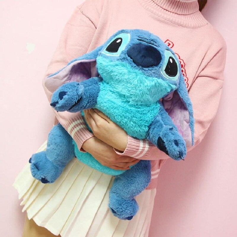 Большой размер 50 см, плюшевые игрушки, аниме Лило и Стич, плюшевая кукла, милый Стич, плюшевая игрушка для детей, подарок на день рождения