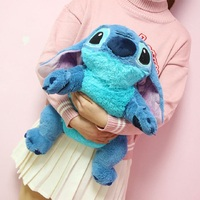 Large size 50cm Stitch Plush Toys Anime Lilo And Stitch Stuffed Animal Doll Cute Stich Plush Toy For Children Kids Birthday Gift