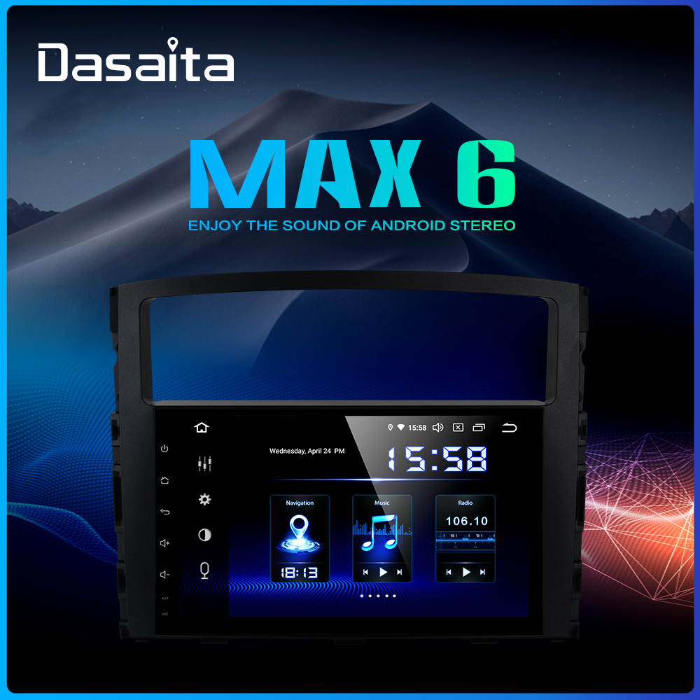 Dasaita 9 IPS Car Multimedia Player Android 9 0 For Mitsubishi Pajero V97 V93 2006 2007