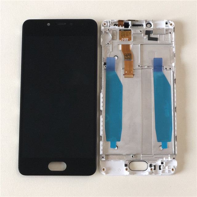 "M&Sen For 5.0"" Meizu MA5 M5C Meilan A5 5C LCD Screen Display+Touch Panel Digitizer With Frame Assembly For Meizu MA5 M5C Display"