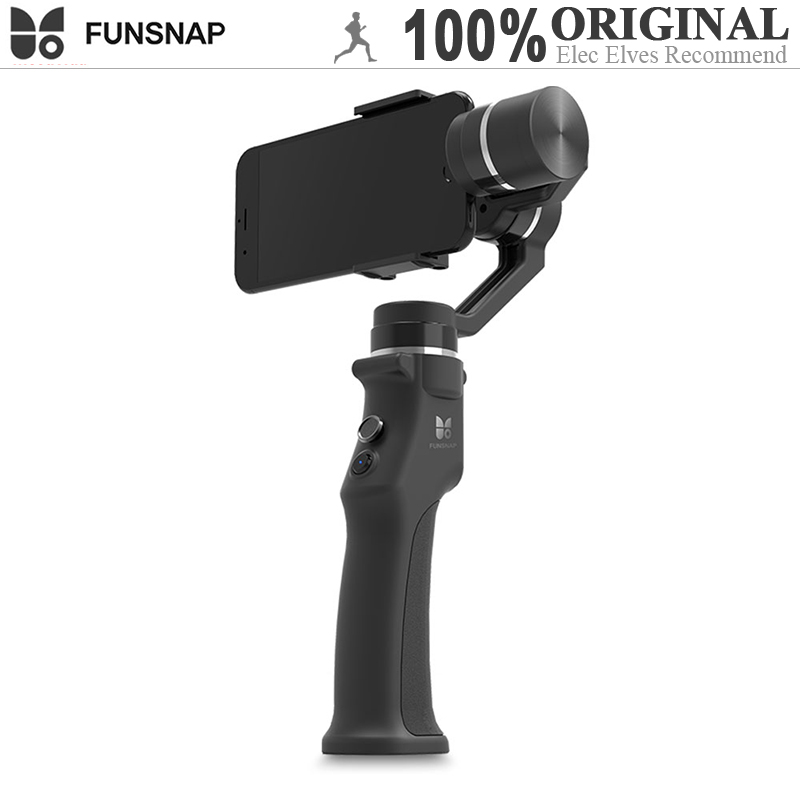 FUNSNAP Capture 3-axis Handheld Brushless Gimbal Stabilizer Android Ios App Supports Sports Handheld Gimbals new xiaomi mi consumer camera handheld gimbal 3 axis brushless gimbals stabilizer operation time 16 hours for mijia mini sports