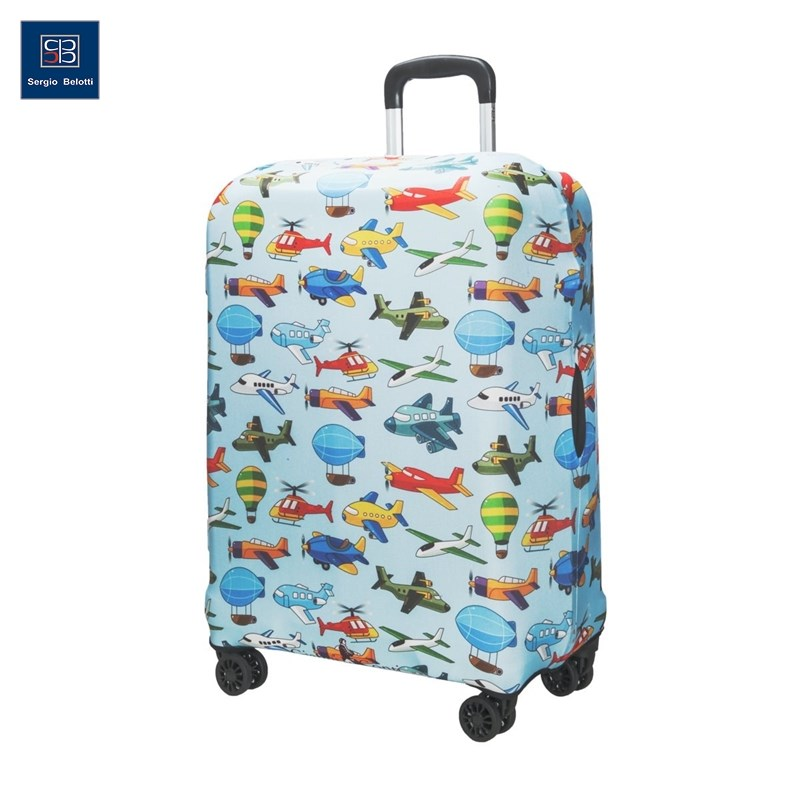 Protective cover for suitcase 9035 M original view window flip pu leather case cover for uhappy up920