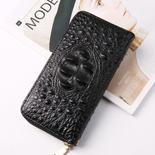 Crocodile nan nv bao Clutch Leisure Business Wallet European And American Large Capacity Bag Package Cross-Border