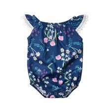 Модная одежда для новорожденных девочек новое летнее милое цветочное