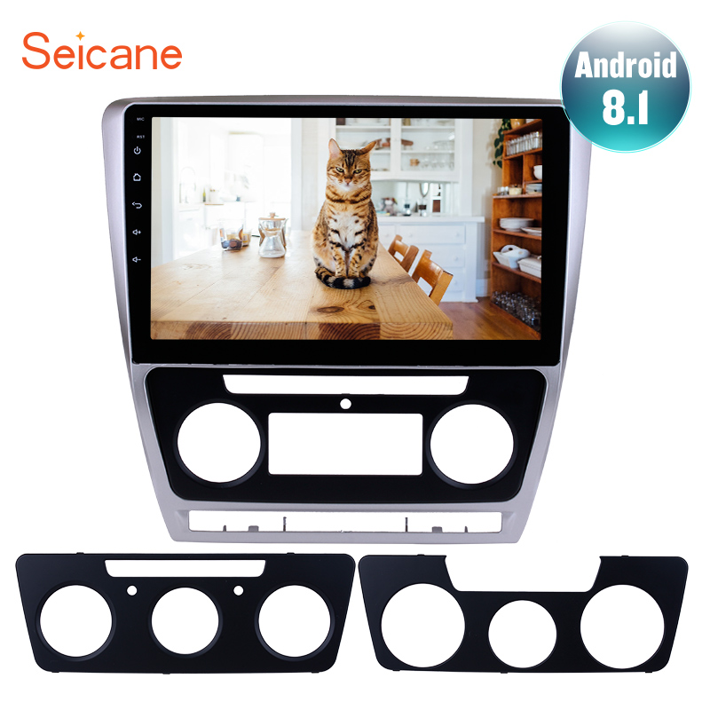 Seicane Android 8.1 10.1 Inch Touch Screen GPS Car Radio For 2007 2008-2012 2013 2014 SKODA Octavia Music Multimedia PlayerSeicane Android 8.1 10.1 Inch Touch Screen GPS Car Radio For 2007 2008-2012 2013 2014 SKODA Octavia Music Multimedia Player