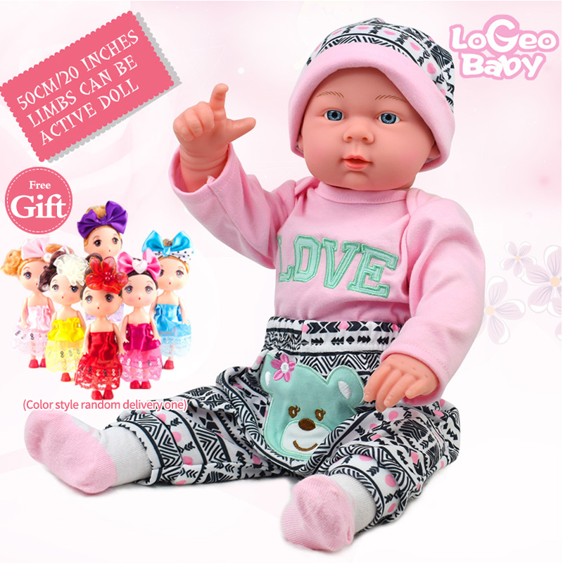 Reborn Baby Soft Doll Simulation Kits Fashion Children Gift Babies Toy