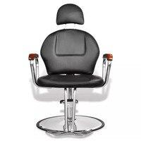 Professional Black искусственная кожа стул салона красоты с подголовником 110122