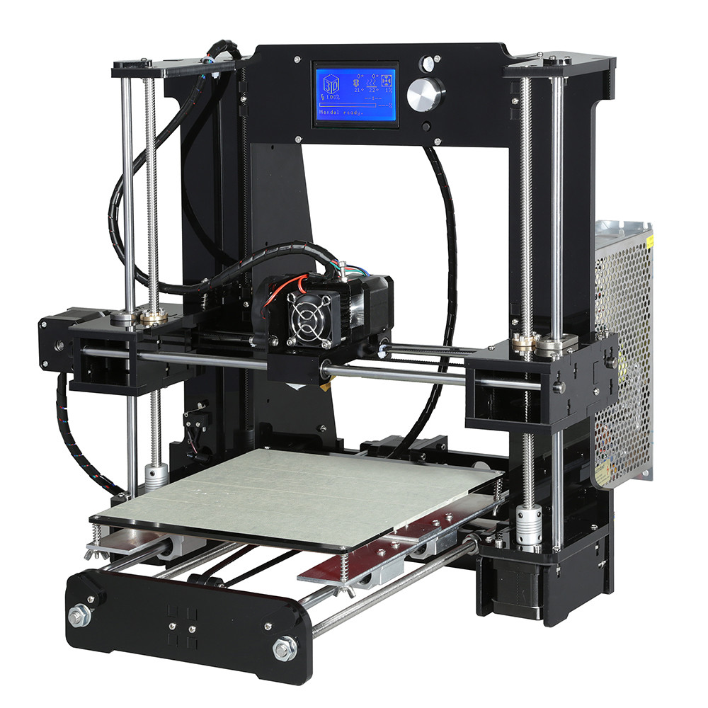 Image 3 - Anet A6 高精度ビッグサイズのデスクトップ 3D プリンタキットの自己アセンブリ液晶画面 16 ギガバイト SD カード印刷サイズ 220*220*250 ミリメートル3D プリンタ   -