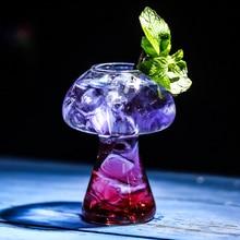 Грибное коктейльное стекло молекулярная кухня бар Выпрямление бармен Специальный пивной винный бокал es Кубок кулер чашка Tipsy Vidro