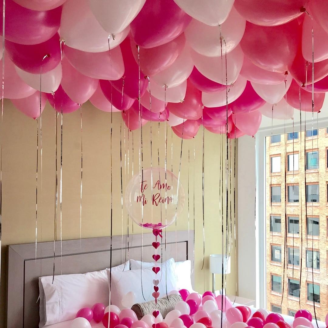 30 पीसीएस 10 इंच गुब्बारे - छुट्टियों और पार्टियों के लिए