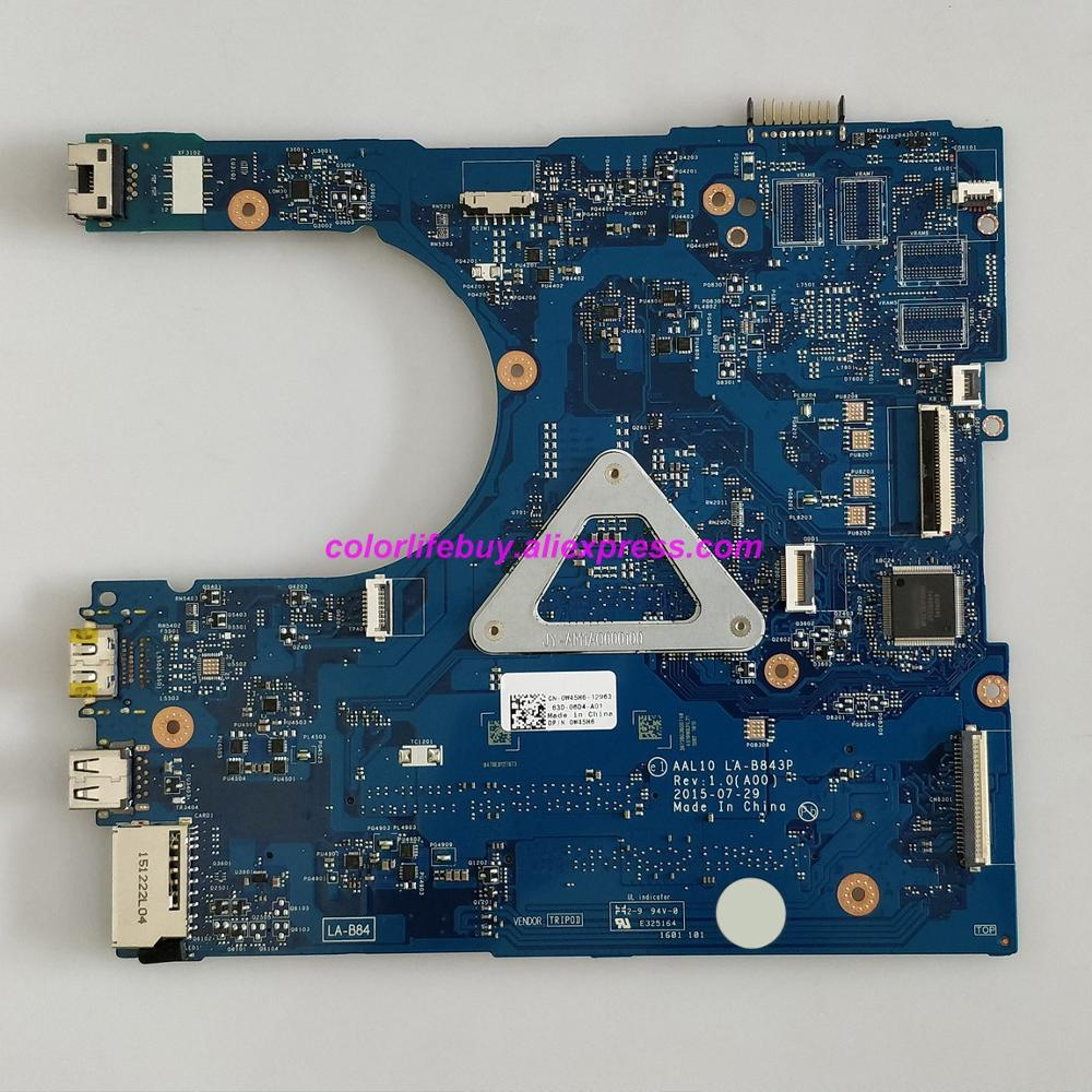 Image 2 - Genuine CN 0W45H6 0W45H6 W45H6 AAL10 LA B843P w I3 4030U CPU Laptop Motherboard for Dell Inspiron 5458 5558 5758 Notebook PC-in Laptop Motherboard from Computer & Office