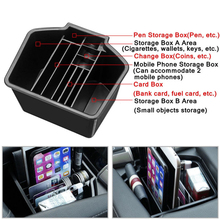 Центральный консольный подлокотник Организатор хранения данных лоток для Honda Civic 10th 2016-18