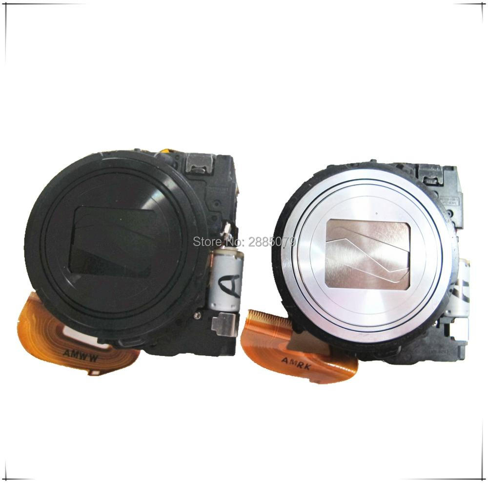 Original <font><b>Lens</b></font> Zoom For <font><b>Sony</b></font> Cyber-shot DSC-WX300 WX300 DSC-<font><b>WX350</b></font> <font><b>WX350</b></font> Digital Camera Repair Part Black Silver image