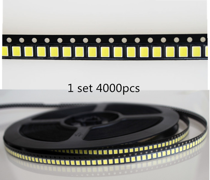 50PCS> SMD LED 2835 5054 5730 Chips 1W 3V 6V 9V 18V 30V Beads Light White 130LM Surface Mount PCB LED Light Emitting Diode Lamp