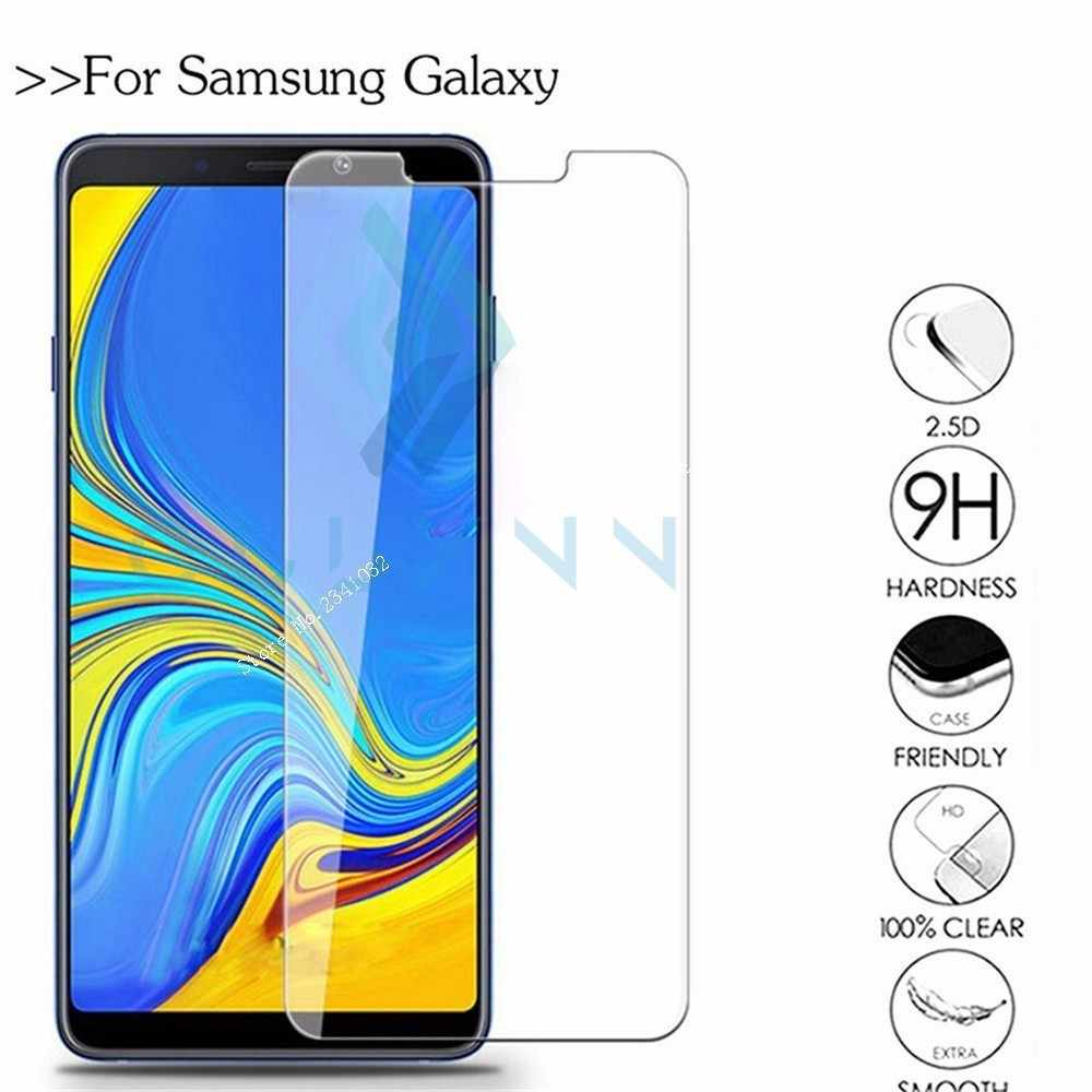 Protective Glass On For Samsung Galaxy J4 6 2018 A6 8 Plus J3 7 8 Prime Screen Protector Samsong J4plus Tempered Screenprotector