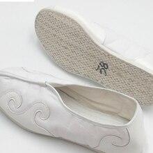 Прочные тканевые дышащие даосские туфли из хлопка; обувь в китайском стиле; обувь в стиле Тай-Чи; обувь для кунг-фу-ушу