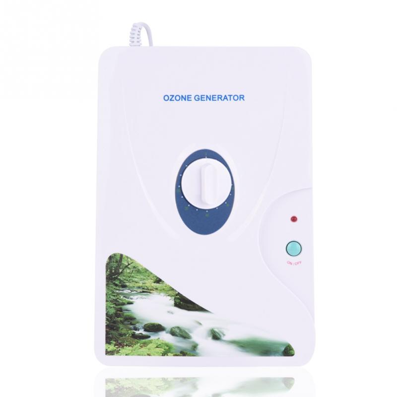 Droshipping 600mg Ozone Generator Ozonator Wheel Timer Air Purifiers Oil Vegetable Meat Fresh Purify Air Water