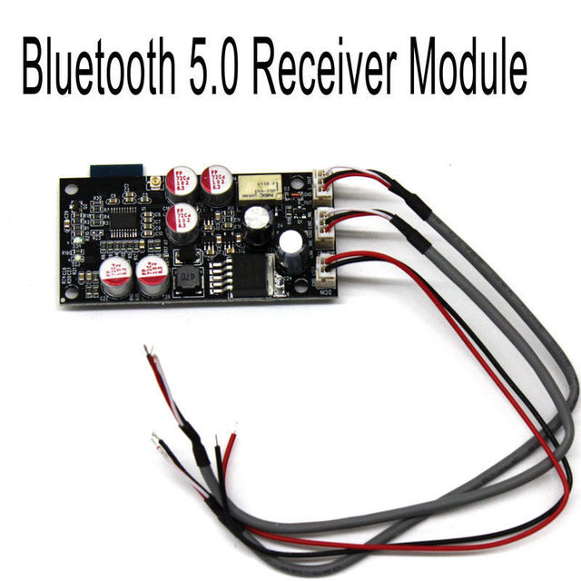 DYKB بلوتوث 5.0 استقبال HiFi الصوت DAC فك مجلس AUX لتقوم بها بنفسك مكبر للصوت PCM5102A فك رقاقة لسيارة 12 فولت 24 فولت