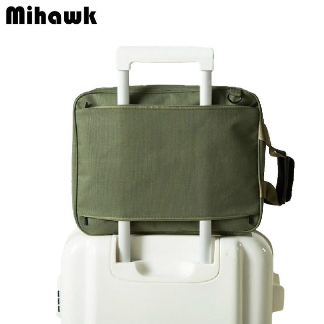 Mihawk Men S Luggage Travel Bags Carry On Duffle Bag With Shoulder Strap Foldable Clothes Toiletry