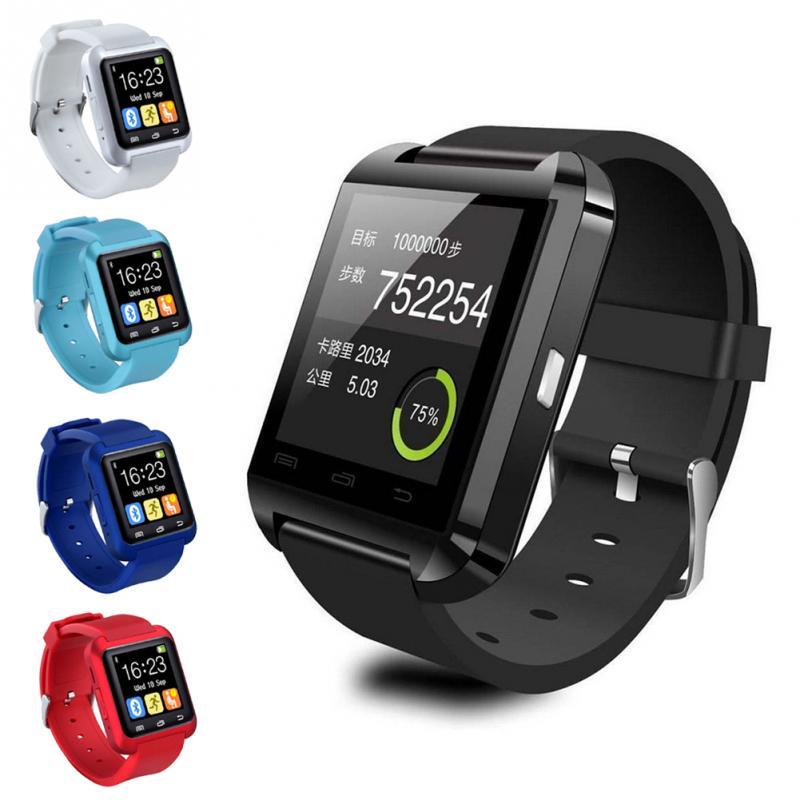 ad43ff71a2e U8 Bluetooth Inteligente Relógio de Pulso Das Mulheres Dos Homens Da Moda  Relógio Eletrônico Para O